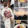 着物で京都への画像