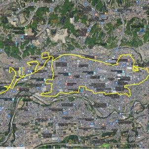 ◆GPS Drawing: ねずみ2020(富岡)の画像