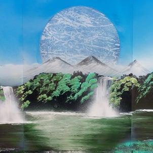 enjoy Spray paint art.2020-1-23の画像