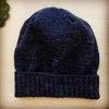 編み機で帽子!!の画像