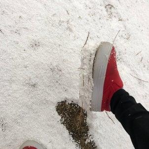 秋田弁クイズ! 靴の裏についた雪の塊をなんと言う?の画像