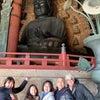 立春 奈良の大仏様の元への画像