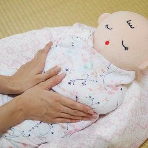 赤ちゃんが寝てくれる♪ママの手の魔法の画像