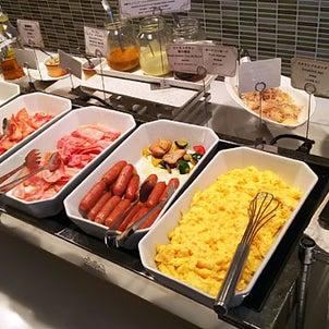 【朝ごはん】秋葉原ワシントンホテル「ボンサルーテカフェ」のMORNING BUFFETの画像