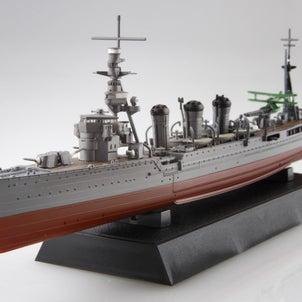 新製品!1/700 艦NEXTシリーズ№17  日本海軍軽巡洋艦 球磨 昭和17年!の画像