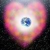 スピリチュアルアート Spiritual Art 宇宙の絵 宇宙元旦 愛と調和の光の画像