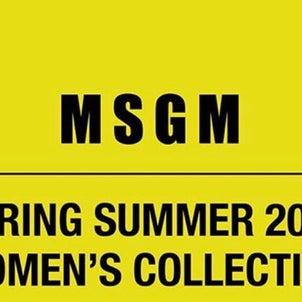 【MSGM】2020S/S レディース vol.2の画像