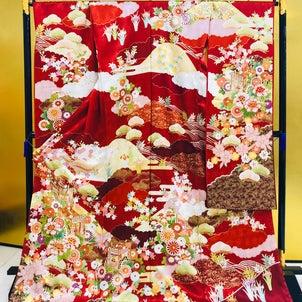 「振袖古典柄」菊京屋 神戸三宮店で展示中‼️の画像