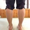 真っ直ぐ立っている様で歪みを作っている脚 【 シンスプリント 】の画像
