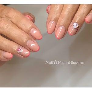 pinkで春のスキニーフレンチ☆の画像