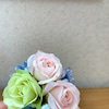生花のコサージュの画像