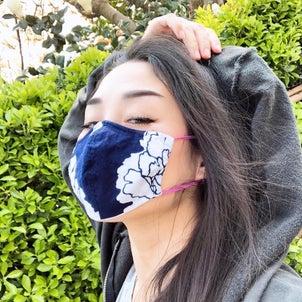 究極にカッコいい和柄マスクの画像