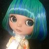 Green & Blue Short-Bob SP!!の画像