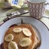 今朝はパンケーキ〜♡の画像