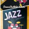 ジャズ看板〜チョークアート教室の画像
