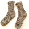 アランの靴下完成‼️の画像