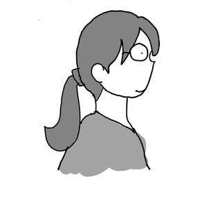似合う髪の長さの画像