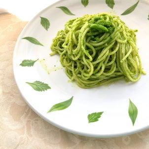 今が旬☆クレソンを食べよう!簡単ジェノベーゼパスタの画像