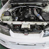スカイライン GT-R R33 ラジエーターファンブレード交換|横須賀市の画像