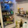 100均恋しい中の冷蔵庫の整理の画像