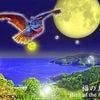 スピリチュアルアート Spiritual Art フクロウ、ミミズクの絵 ヒーリングアートの画像