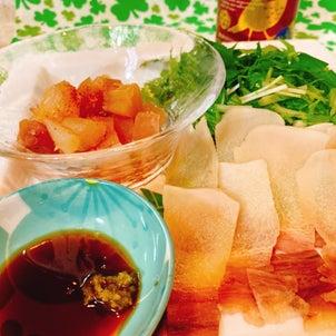 【おうちごはん】家飲みのおつまみは、鯨ベーコンの画像