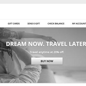 【SPGアメックス】世界中のマリオットホテルで使えるマリオット ギフトカードが20%オフ!の画像