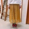 花柄スカートの画像