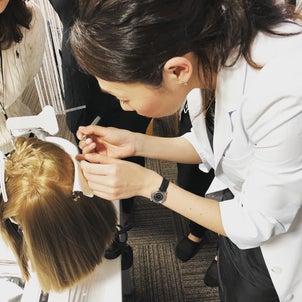 グランヘア増毛エクステンション導入研修の画像