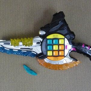 仮面ライダー「ガシャコンキースラッシャー」の修理の画像