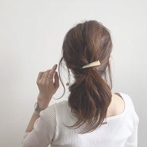 まとめ髪にさすだけ『こなれ感』UPのヘアアクセ♡の画像