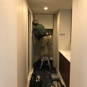 収納力&インテリア性を両立させた家具設置♪@新築マンション その3の画像