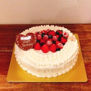 5月のケーキの画像