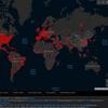 ★感染マップ・5/22、~ブラジル3位に~新型コロナウィルスの画像