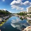 初夏のパリ散歩『新緑のセーヌ川、サンルイ島、アーセナル船着場』の画像