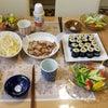 今日の夕食の画像