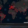 ★感染マップ・5/23、ブラジル2位に~新型コロナウィルスの画像