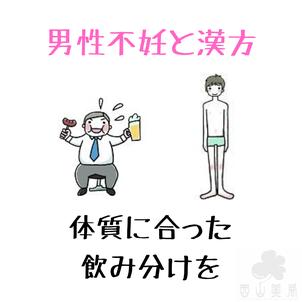 シンプルに選ぼう男性不妊の漢方の画像