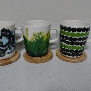 marimekkoのカップ2の画像