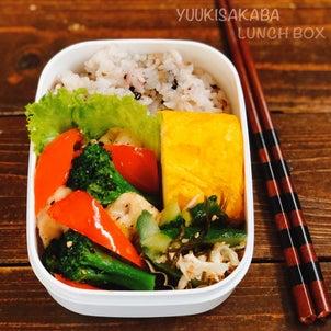 鶏肉と野菜の中華風塩炒め。鶏むね肉を使ったお弁当におすすめのおかずレシピ。の画像