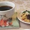 コーヒーと一共に食べるものの画像