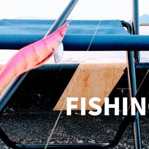 イカ釣りエギングの画像