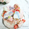 救急車とペンギンのケーキ!!の画像