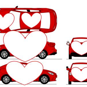 新型教習車のデザイン発表(カラーも造形の一部)の画像