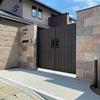 堺市南区 新築外構工事完了の画像