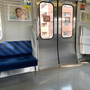 2か月ぶりの電車の画像