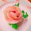 生ハムローズサンドイッチの画像