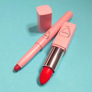 鮮やか赤リップをカジュアルに使いこなす方法#セルフ美容の画像
