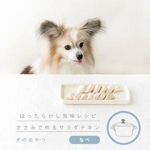 犬には犬のサラダチキンを作ってあげよう!(手作り犬おやつレシピ)の画像