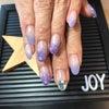 紫陽花カラーネイル♡の画像